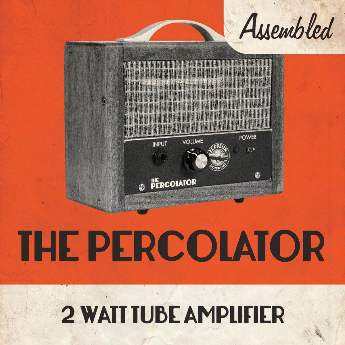 The Percolator Amp Assembled