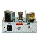 Percolator low watt tube practice amp - head only. Back panel.