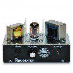 Percolator low watt tube practice amp - head only. Front panel.