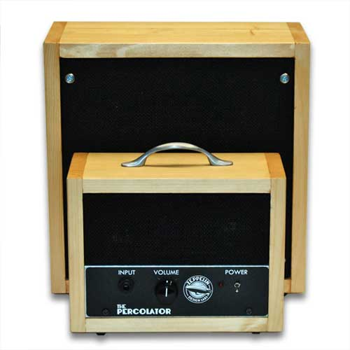 Percolator Amp and 1x8 Speaker Cabinet - Blond Finish