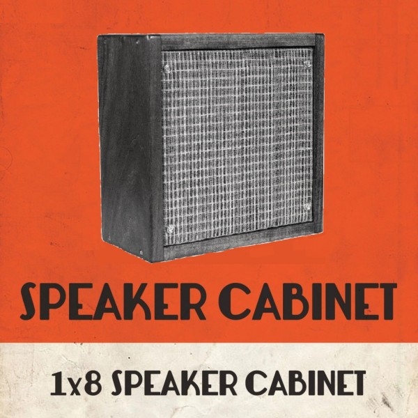 Speaker cabinet 1x8 DIY kit or Ready to Play