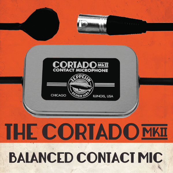Cortado MkII Balanced Contact Mic