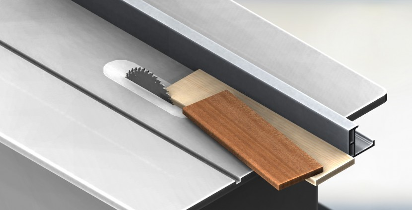 Simple Method for cutting Angled Parts on a Table Saw