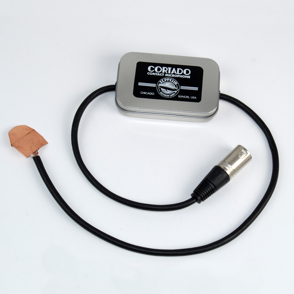 Cortado Balanced Output Piezo Contact Microphone