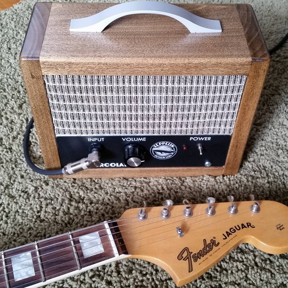 Percolator 2w Tube Guitar Amp Valve Zeppelin Design Labs How To Build Mini Box Amplifier