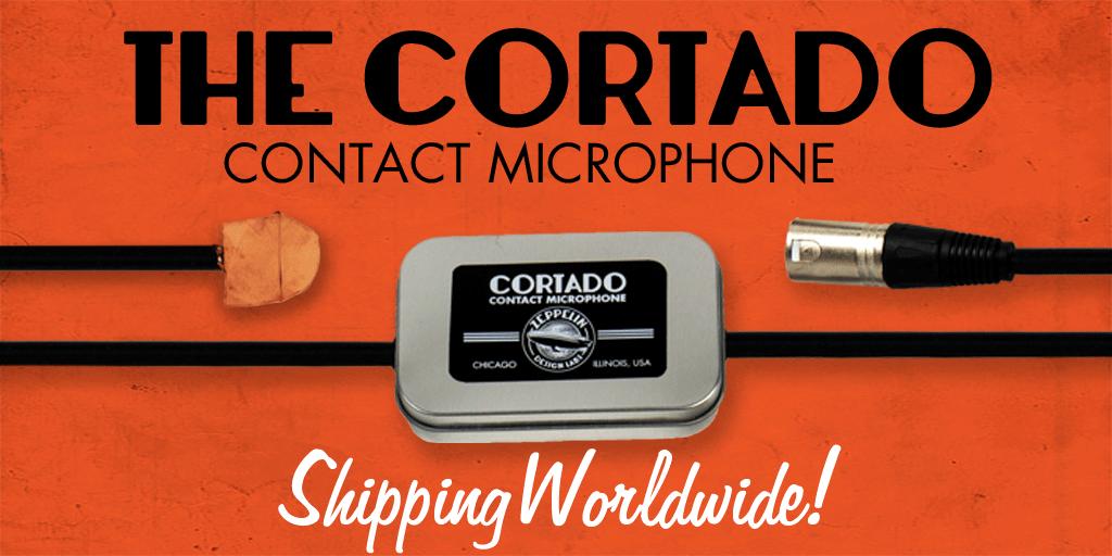 The Cortado MKII contact microphne
