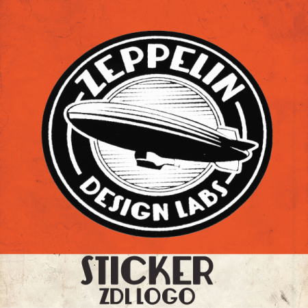 ZDL Logo Sticker