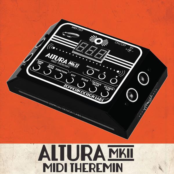 Altura MkII Theremin MIDI Controller / Arpeggiator